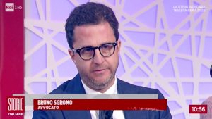 Rai 1 - Storie Italiane Intervista all'Avv. Bruno Sgromo