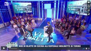 Rai 1 – La vita in Diretta Marco Liorni intervista l'avvocato Bruno Sgromo