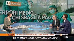 Rai 1 - Tempo e denaro Intervista all'Avv. Bruno Sgromo